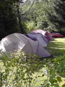 Zelten am Segelfluggelände