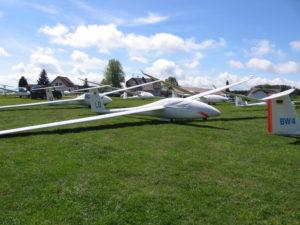 Unser Wettbewerbsflugzeug, die LD von der LGH