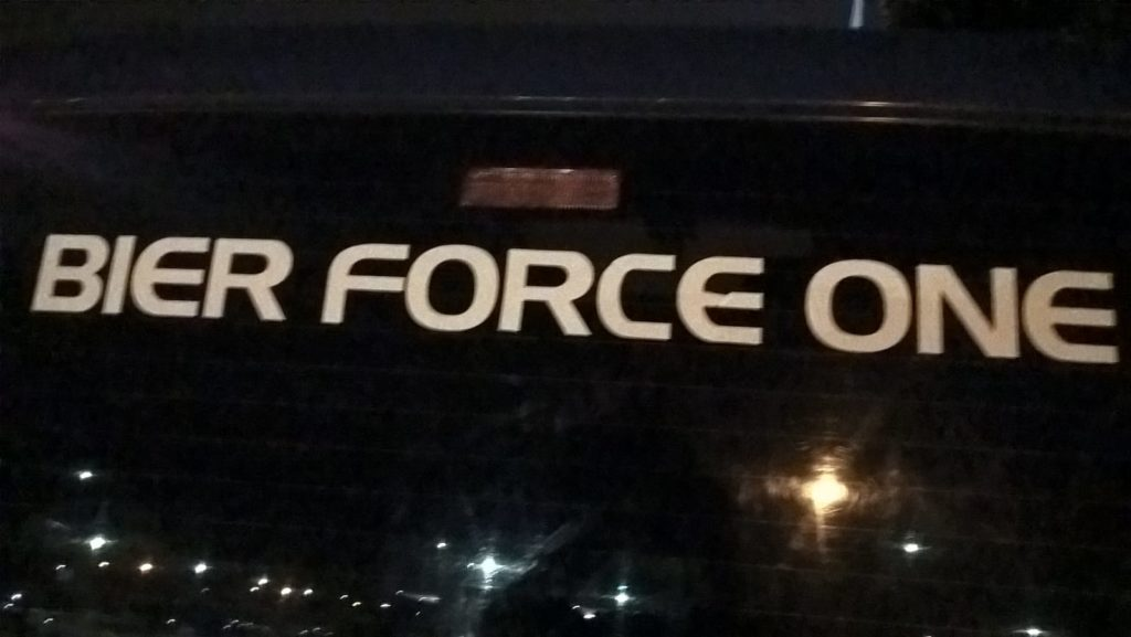 BVS Bier Force One
